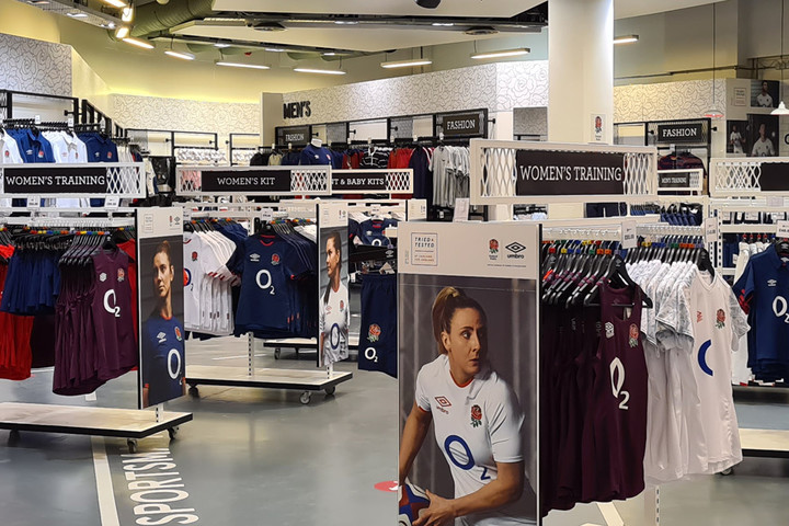 Game On! England Rugby Store to Reopen