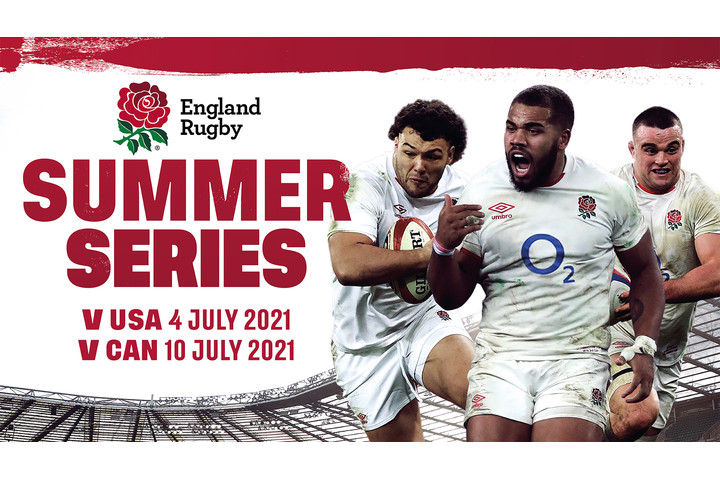 England Rugby Summer Series confirmed at Twickenham