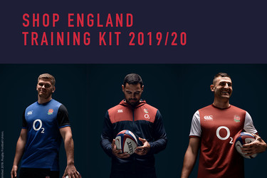 England Rugby training kit for 2019 revealed by Canterbury