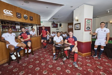 Canterbury reveals 2019 England Rugby World Cup Kit