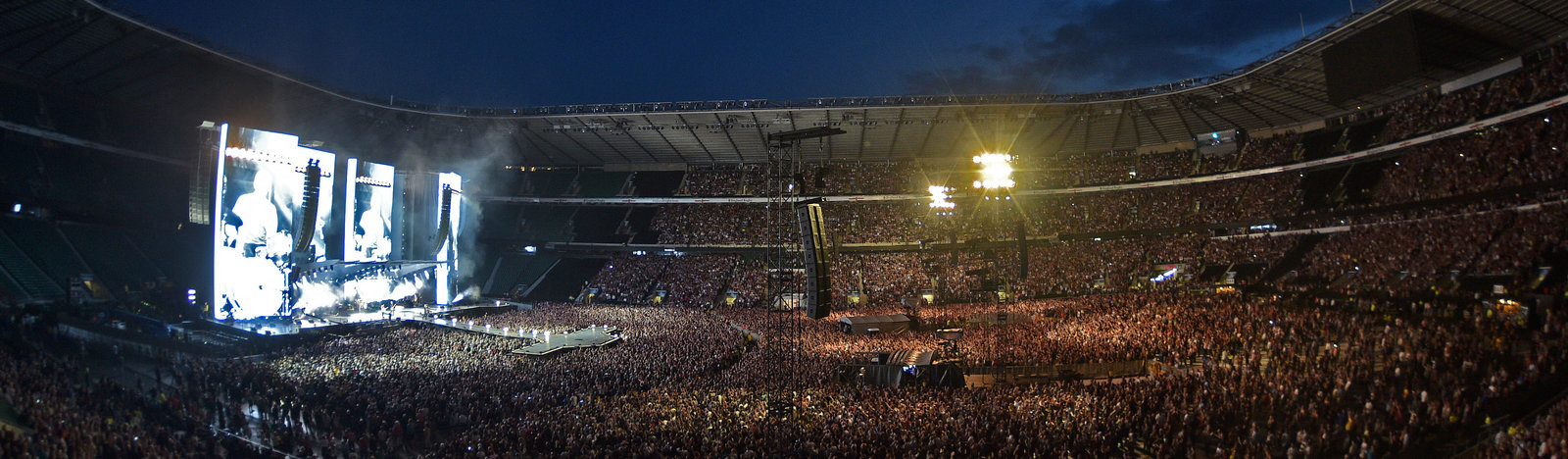Rolling Stones concert at Twickenham Stadium