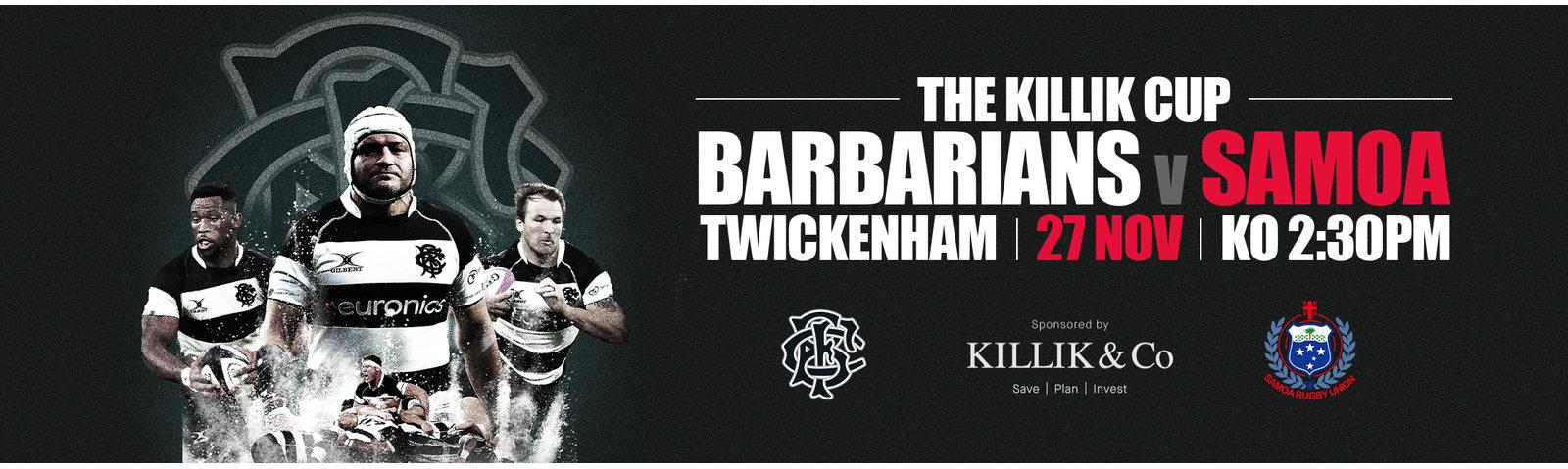 Barbarian vs Samoa