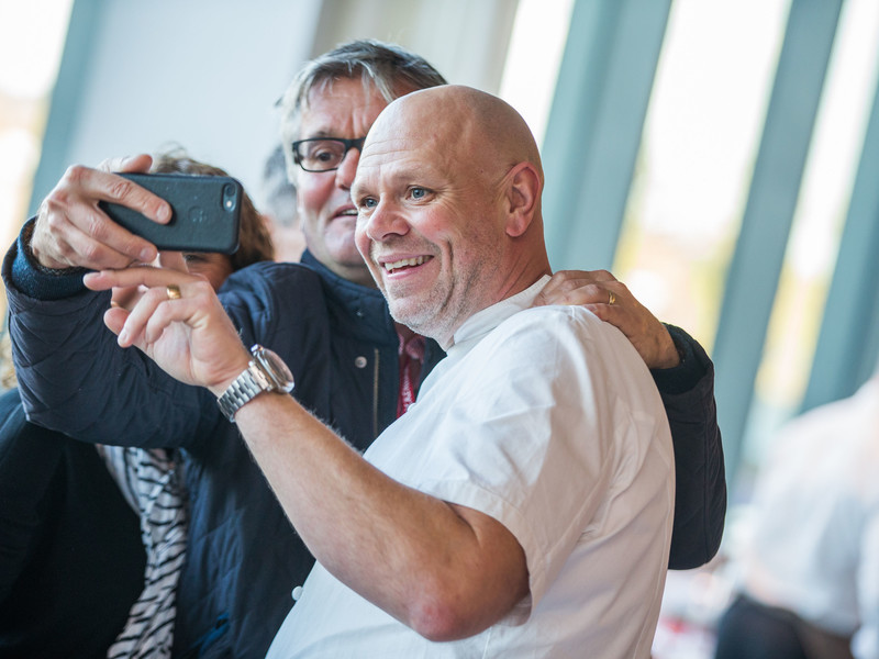 Tom Kerridge at Twickenham Stadium