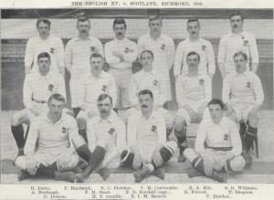England v Scotland 1903