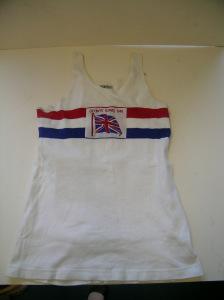 JA Gregory's 1948 Olympic vest