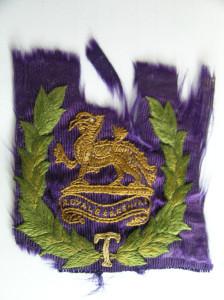 5. Ronald Poulton-Palmer Berkshire Regimental Crest