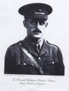 5. Lt Ronald Poulton Palmer- Royal Berkshire Regiment