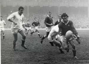 21. Gareth Edwards England v Wales 1968