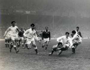 21. Gareth Edwards first international try England v Wales 1968