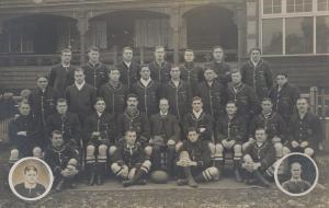 1906 Springboks, featuring Andrew, Douglas and William Morkel