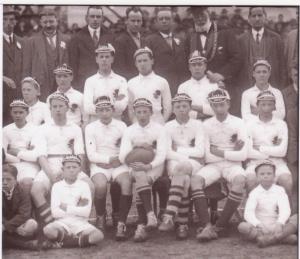England U16s 1922-3 v Wales 001