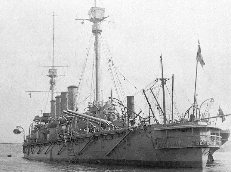 HMS_Defence_1907