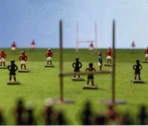 2005-141 Ground view of figurines on board