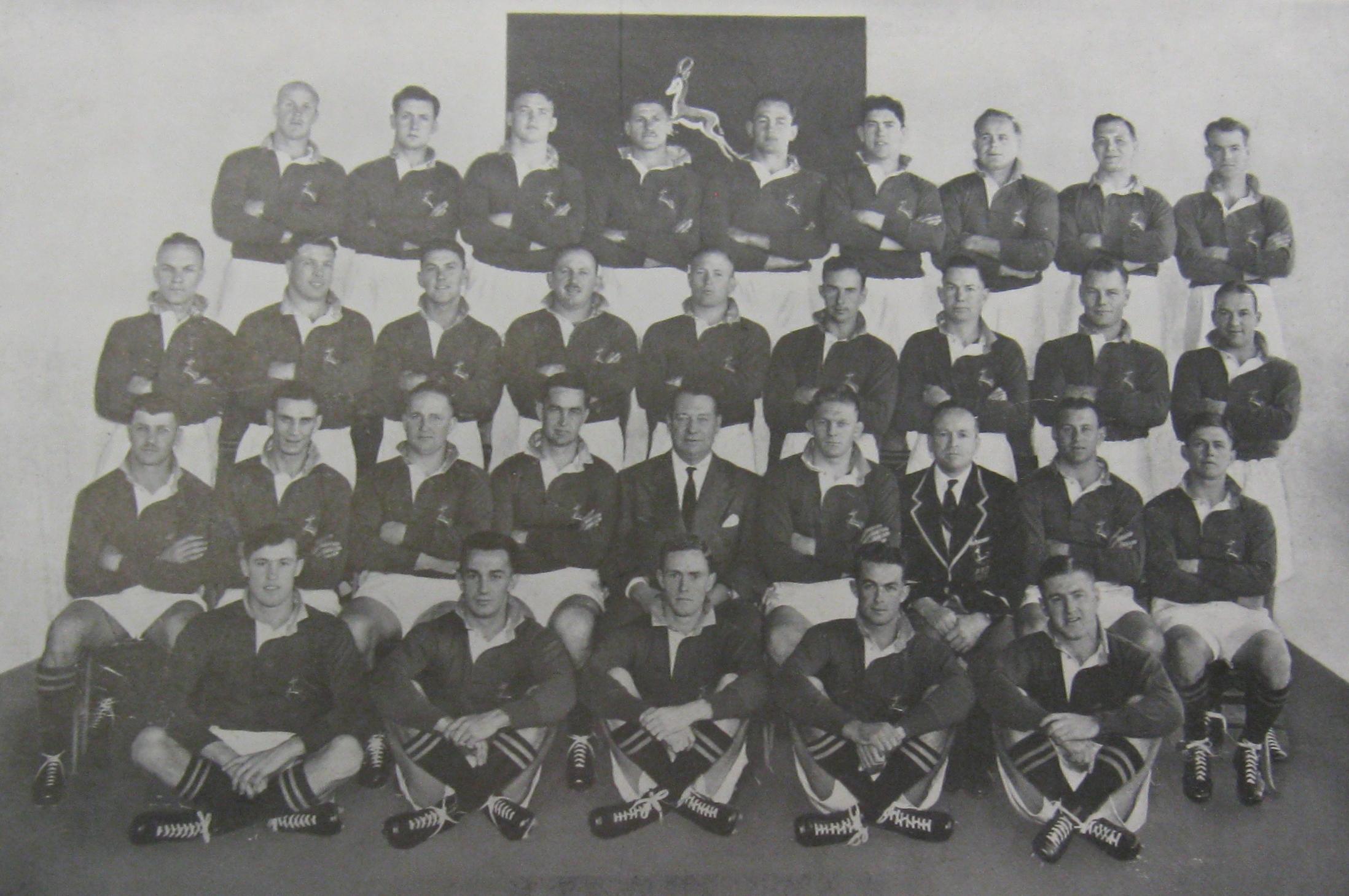 1951 Springboks touring team