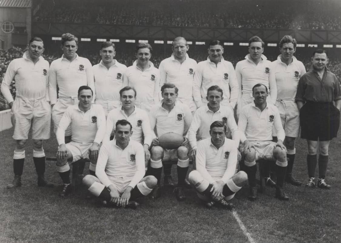 England team v Ireland 1948