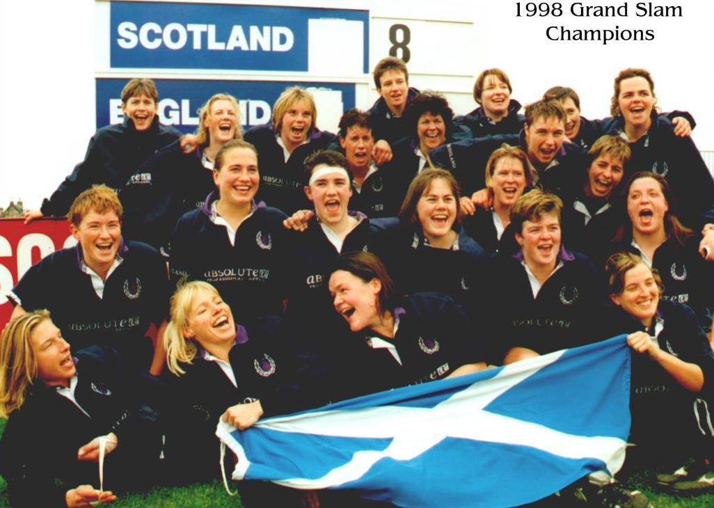 The 1998 Grand Slam Champions, Scotland.