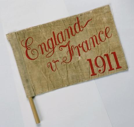 E v F 1911 touch flag