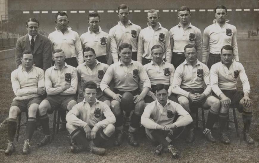 1929 RAF rugby team