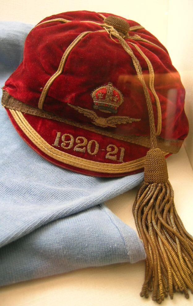 Cyril Lowe cap