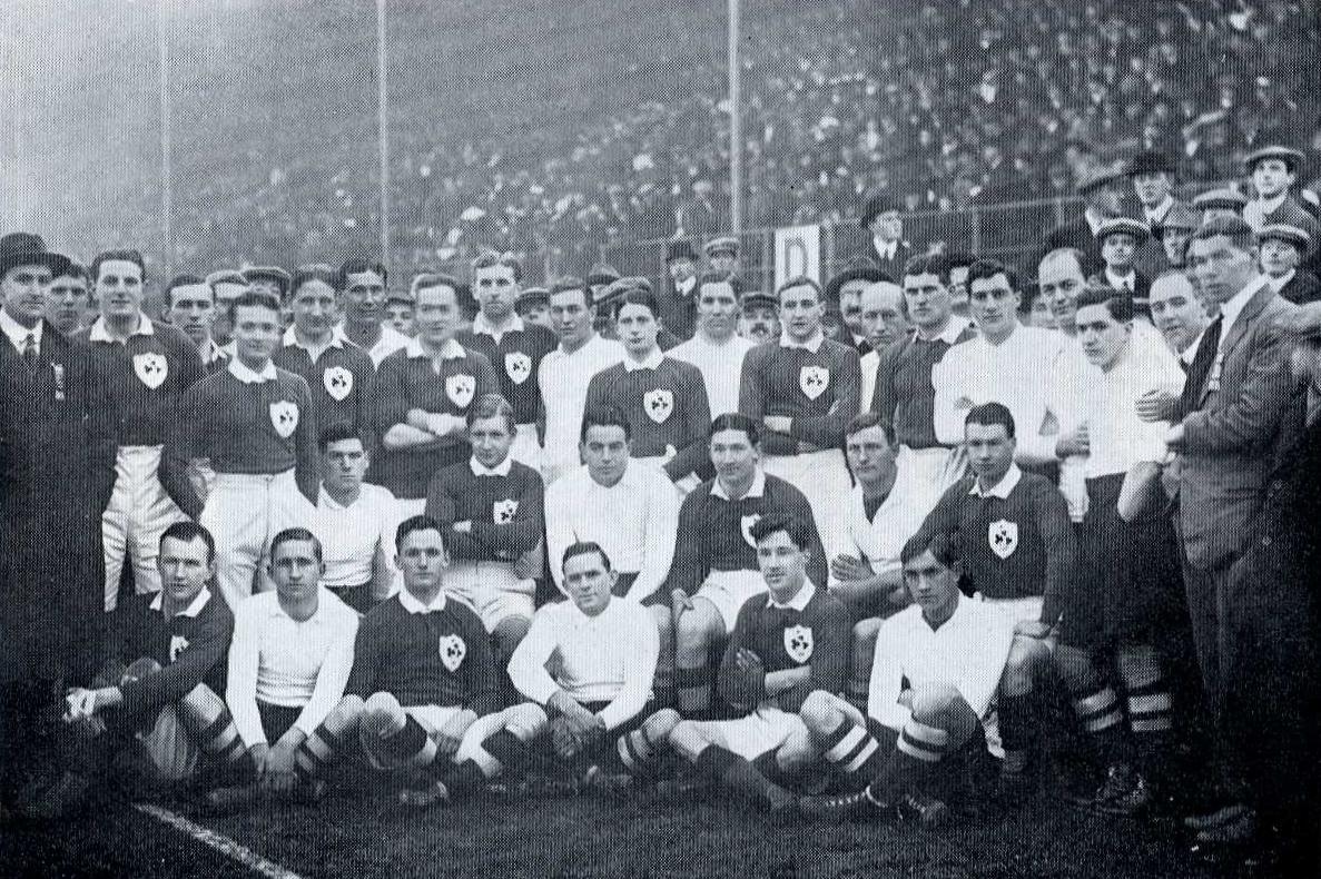 Ireland v South Africa, 1912