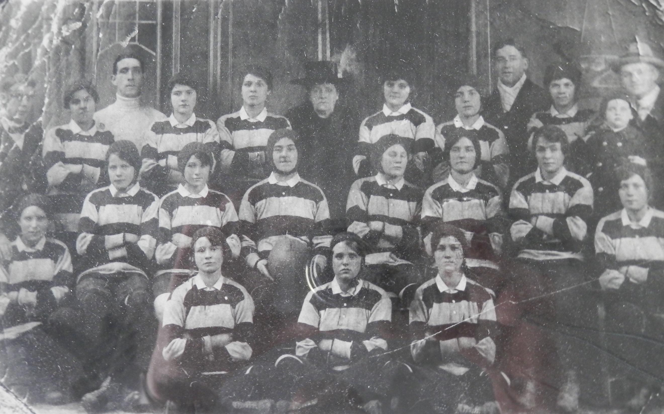 Cardiff Ladies, 1917