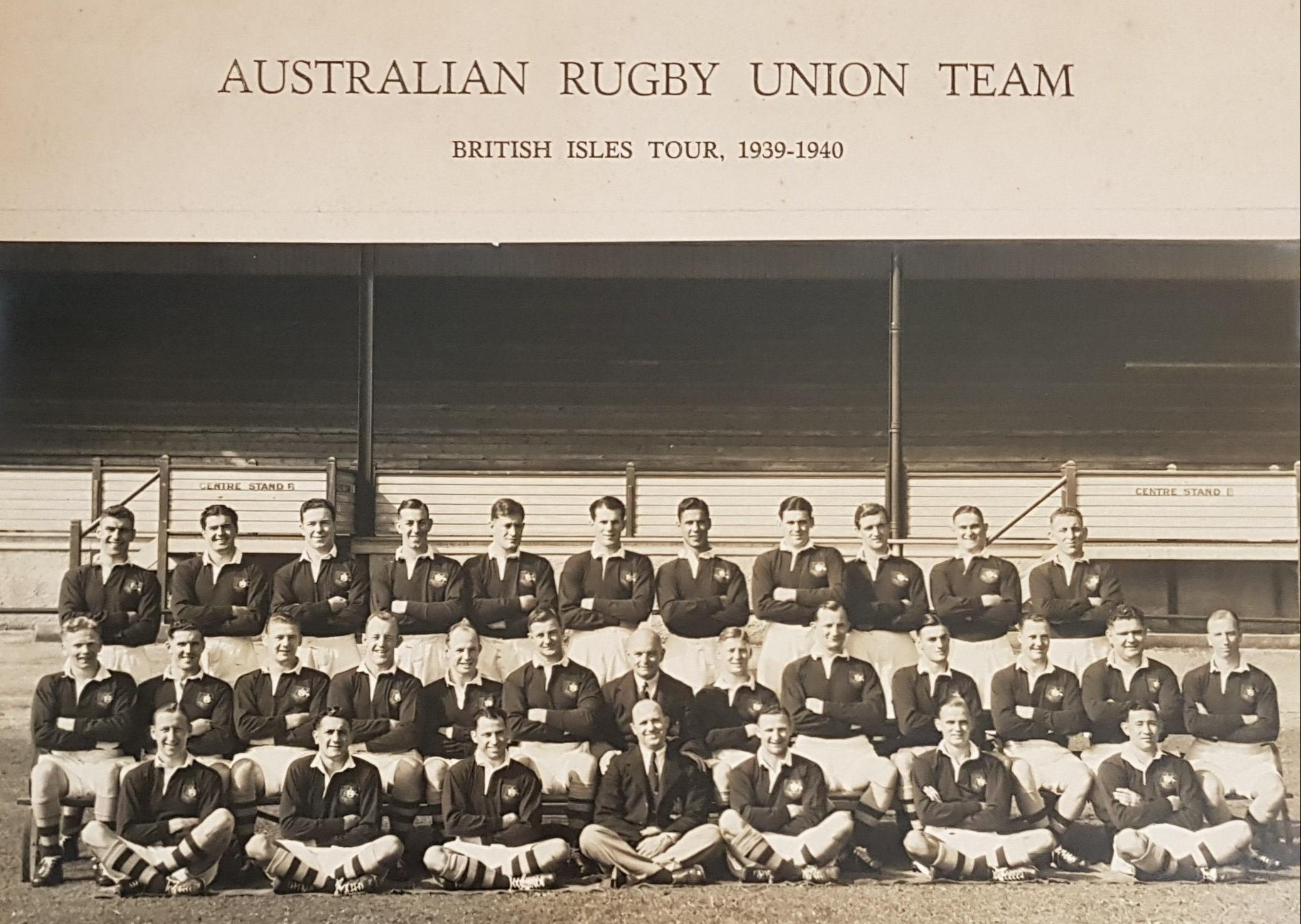 1939 wallabies team