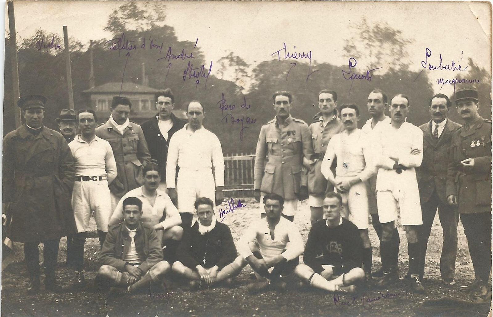Racing Club de France, 1918