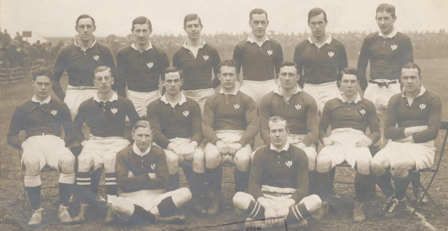 Scotland team, 1911