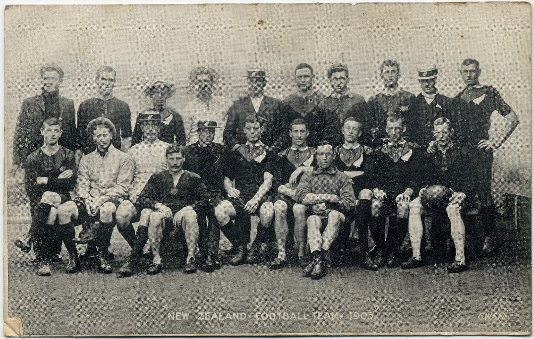 New Zealand Touring Party, 1905
