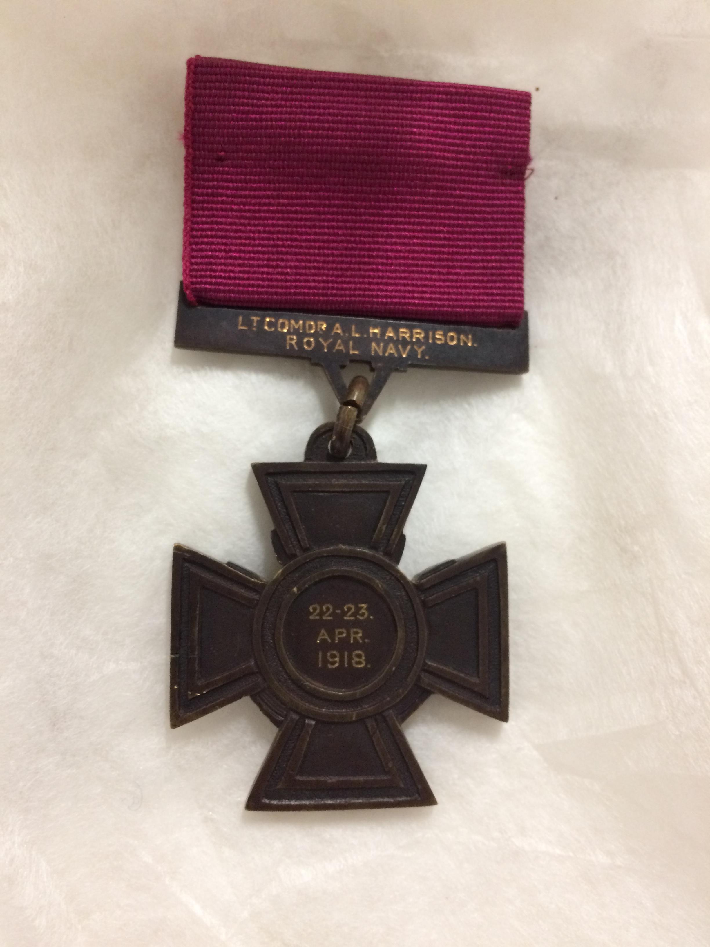 Arthur Harrison Victoria Cross
