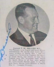 Frank W Mellish