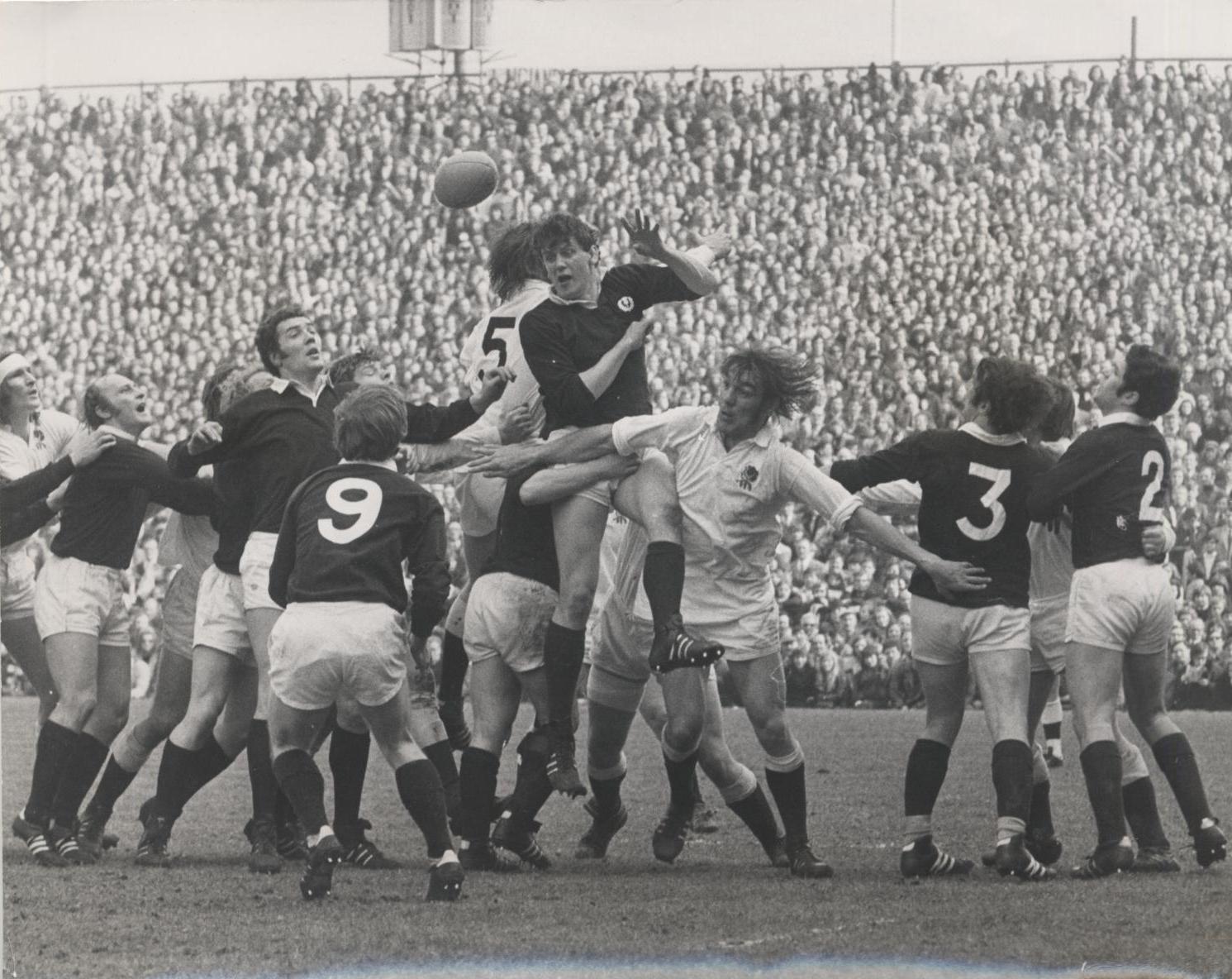 England v Scotland 17/03/1973 Twickenham