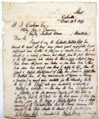 Calcutta letter