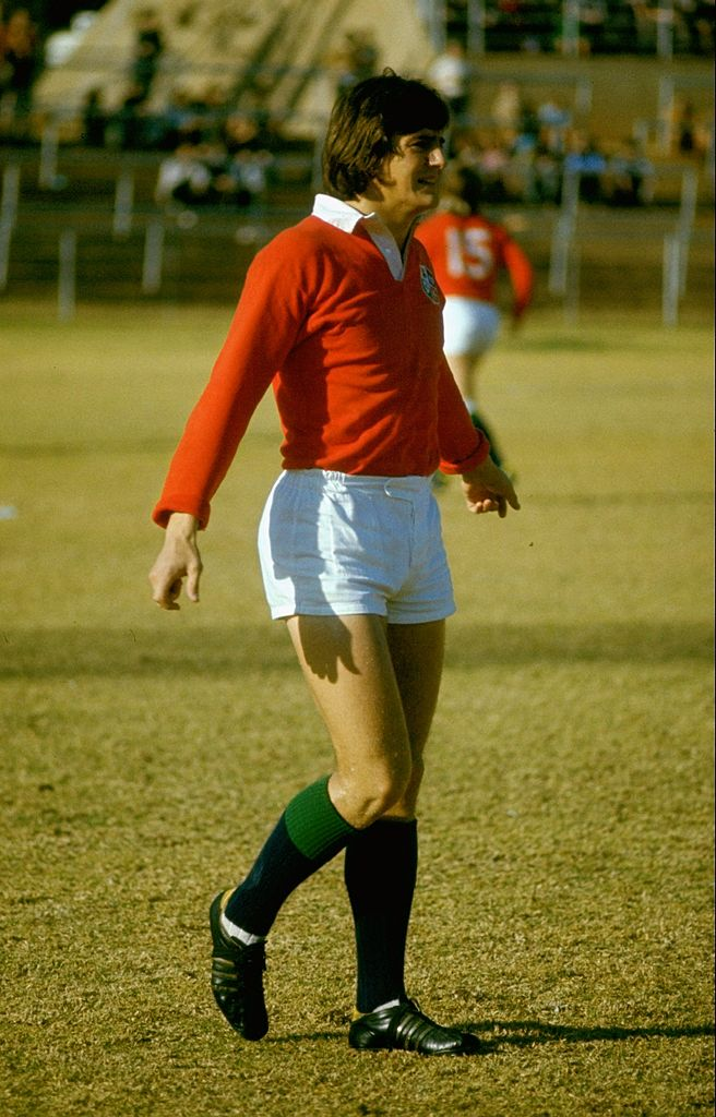 Andy Irvine of the British Lions
