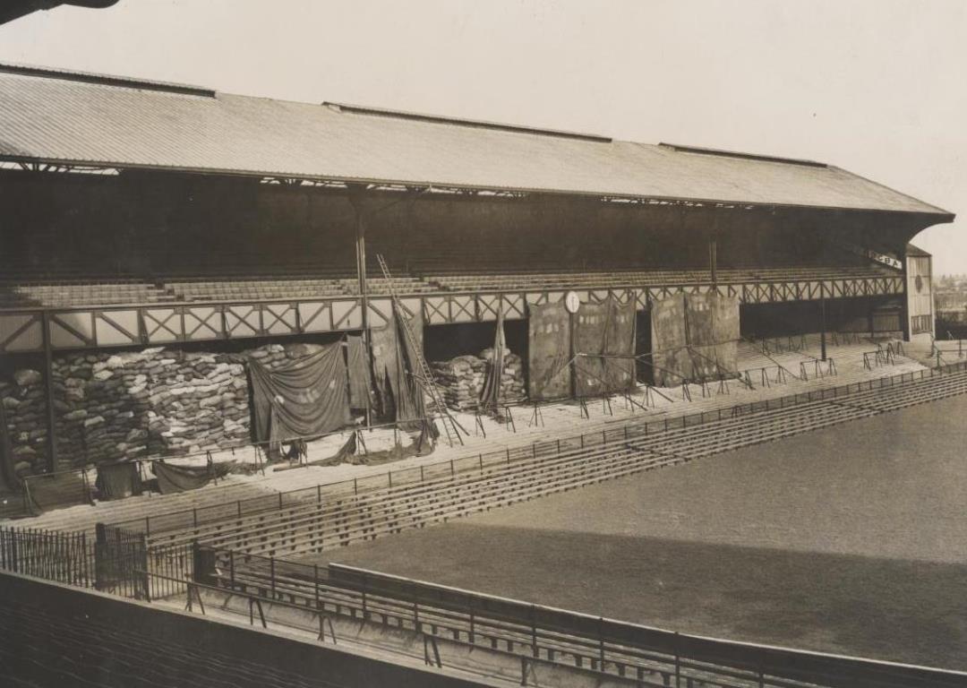 Twickenham Stadium during WWII