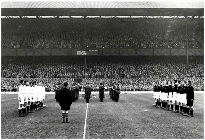 England v Scotland, 16/03/1946.