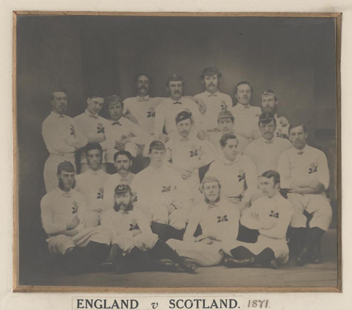 1871 England team
