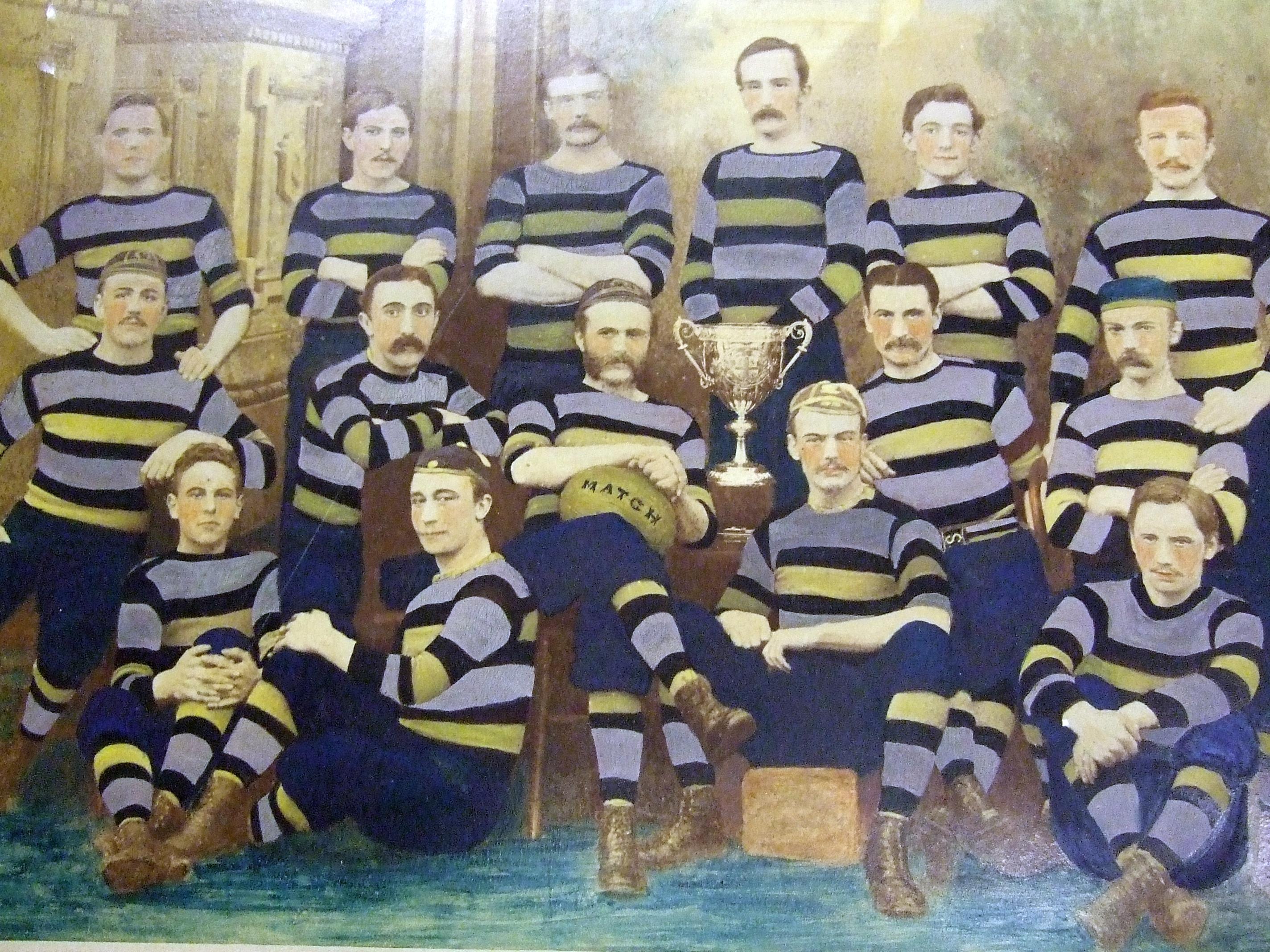 Sunderland Rugby Team, 1881