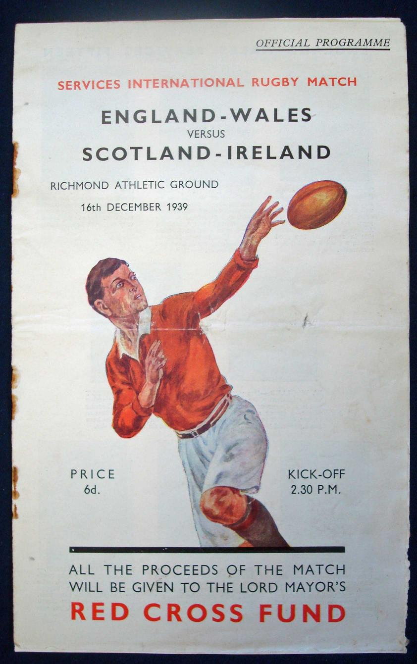 33 The Red Cross Match 1939
