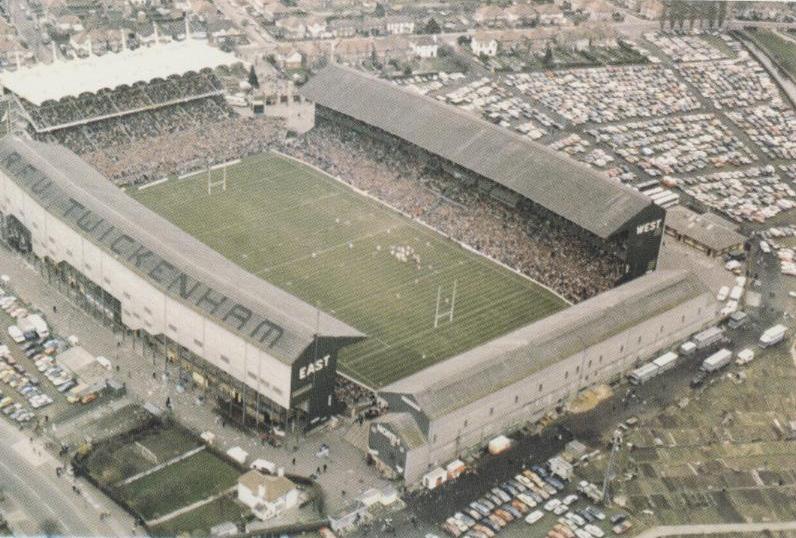 Aerial view of Twickenham Stadium