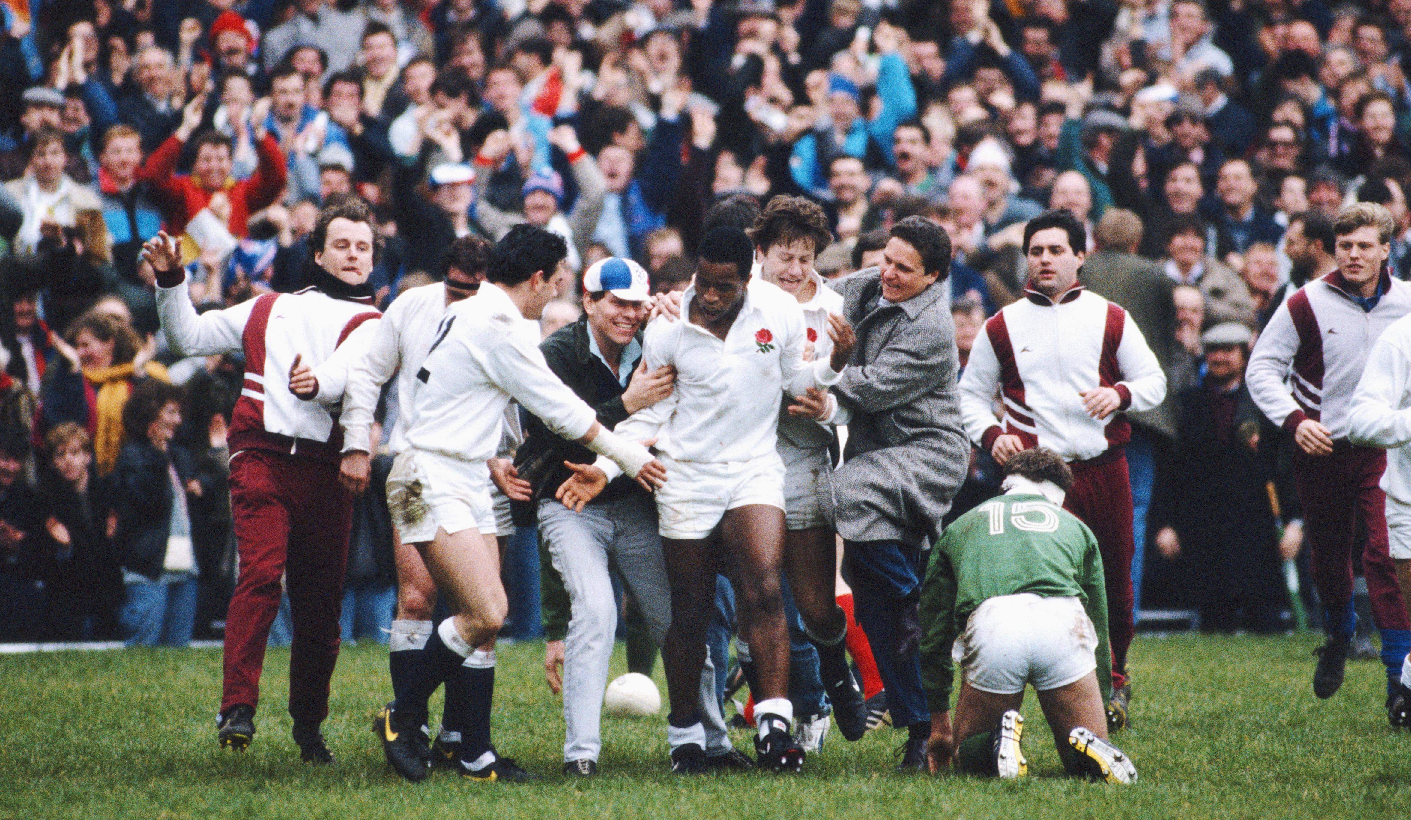 Chris Oti England 1988
