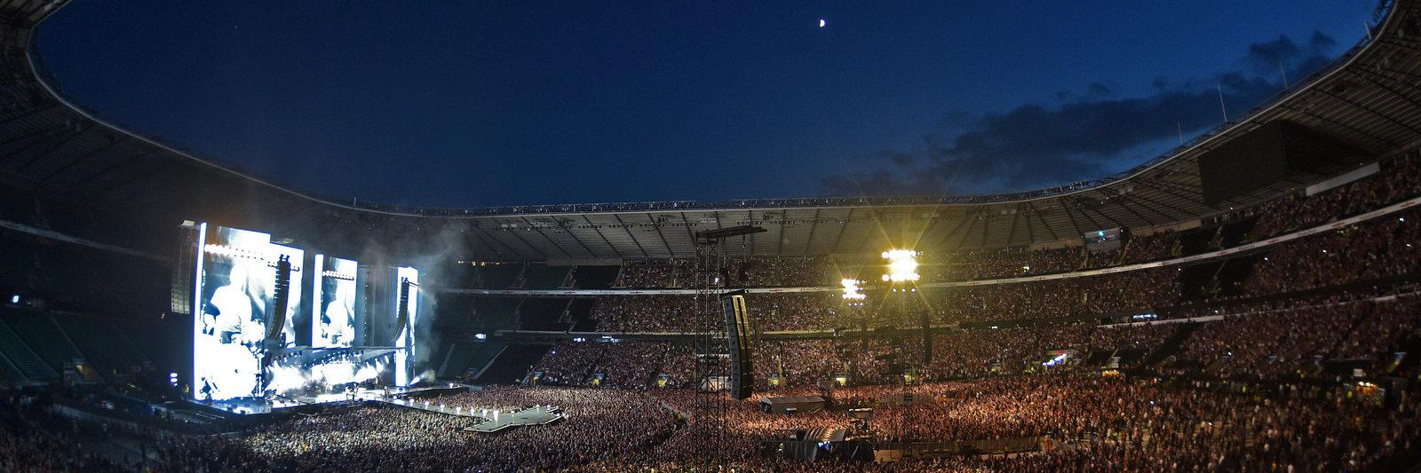 Rolling Stones concert at Twickenham Stadium